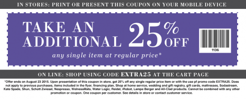 linen chest coupon july 2019