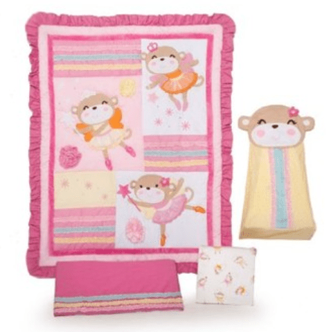 Fancy Shop ca has a great deal online right now Head over to Shop ca and you could save off your purchase of a Carter us Piece Crib Set in Fairy Monkey