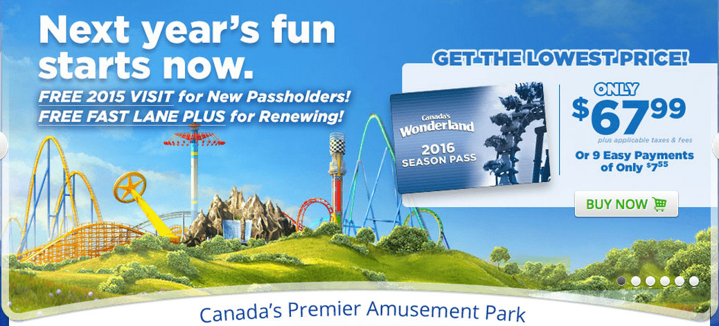 Canada's Wonderland Promo Code for $ tickets for Halloween Haunt (EXPIRED!) Use this Canada's Wonderland Promo Code for $ tickets for Halloween Haunt - .