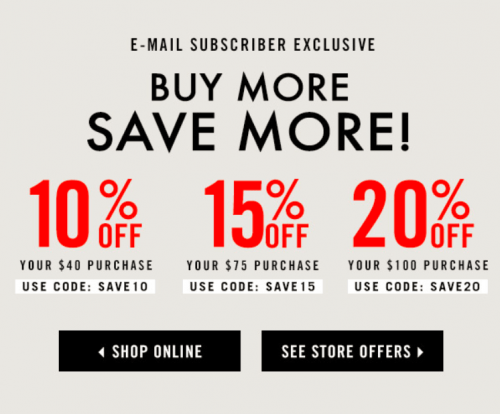 Forever 21 Canada Buy More Save More Promo Code Sale: Save ...