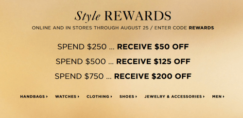 795ee4b5264cf3 If you're looking to treat yourself to some great designer clothing and  accessories, check out this deal from Michael Kors Canada! Head over to Michael  Kors ...