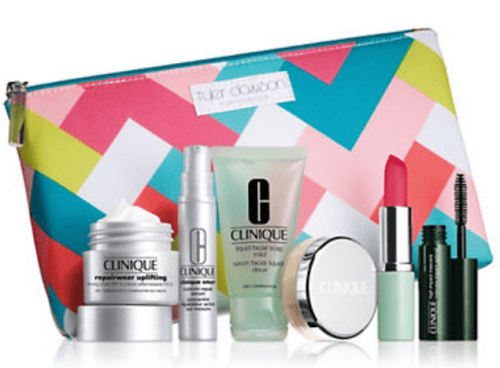 Head online to Hudson's Bay and you could receive a free 7 piece Clinique gift set with any Clinique purchase of ...