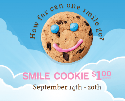 tim hortons canada offers smile cookies for just. Black Bedroom Furniture Sets. Home Design Ideas