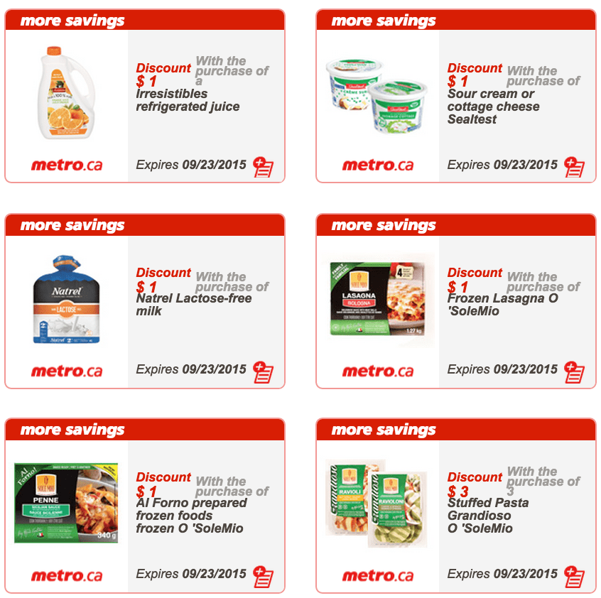 Metro Quebec Printable Store Coupons September 17 To
