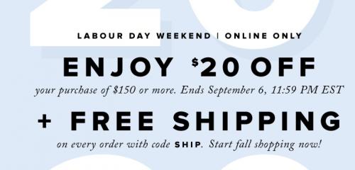 hudson-bay-canada-free-shipping-coupon-code