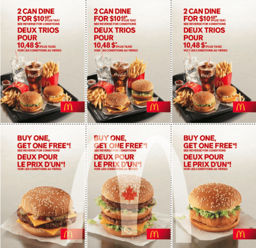 McDonalds Coupons All Active McDonalds Promo Codes & Coupons - December McDonald's, the great global American brand has been cooking up happy meals for families all over the world and has been dishing up the world's favorite food since