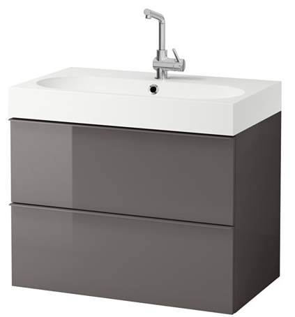 Amazing If you ure making big changes to your bathroom and renovating this is a great chance to save on new fixtures as sinks and faucets are included in Ikea us
