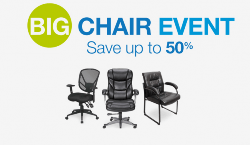 If youu0027re in need of some better seating for your home or work office Staples Canada has a great offer online right now! Shop online at Staples and you ...  sc 1 st  Smart Canucks & Staples Canada Big Chair Event: Save Up to 50% Off Office Chairs ...