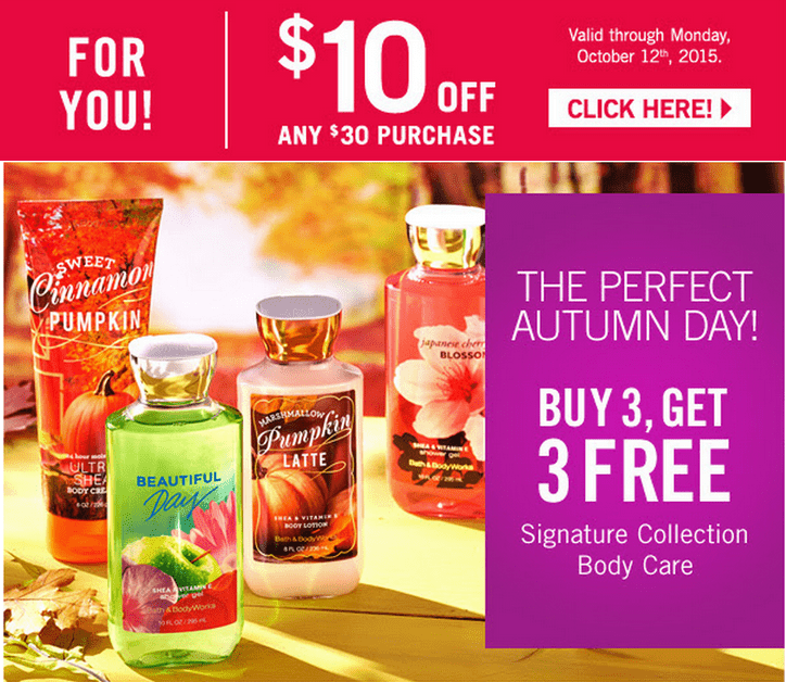 It's just a picture of Comprehensive Bath and Body Printable Coupons in Store