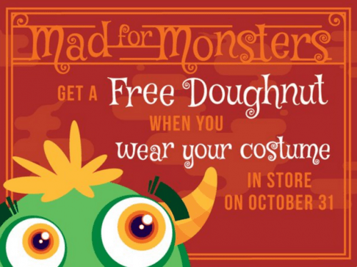 HalloweenFREE Doughnut