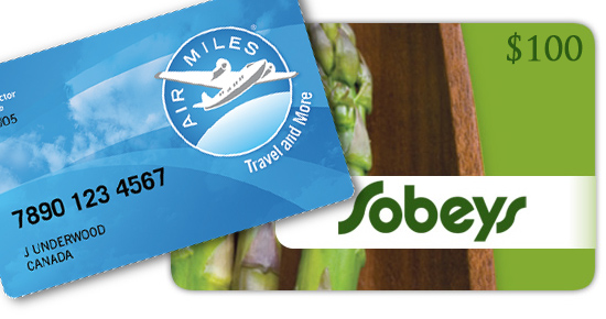Sobeys Gift Card Air Miles