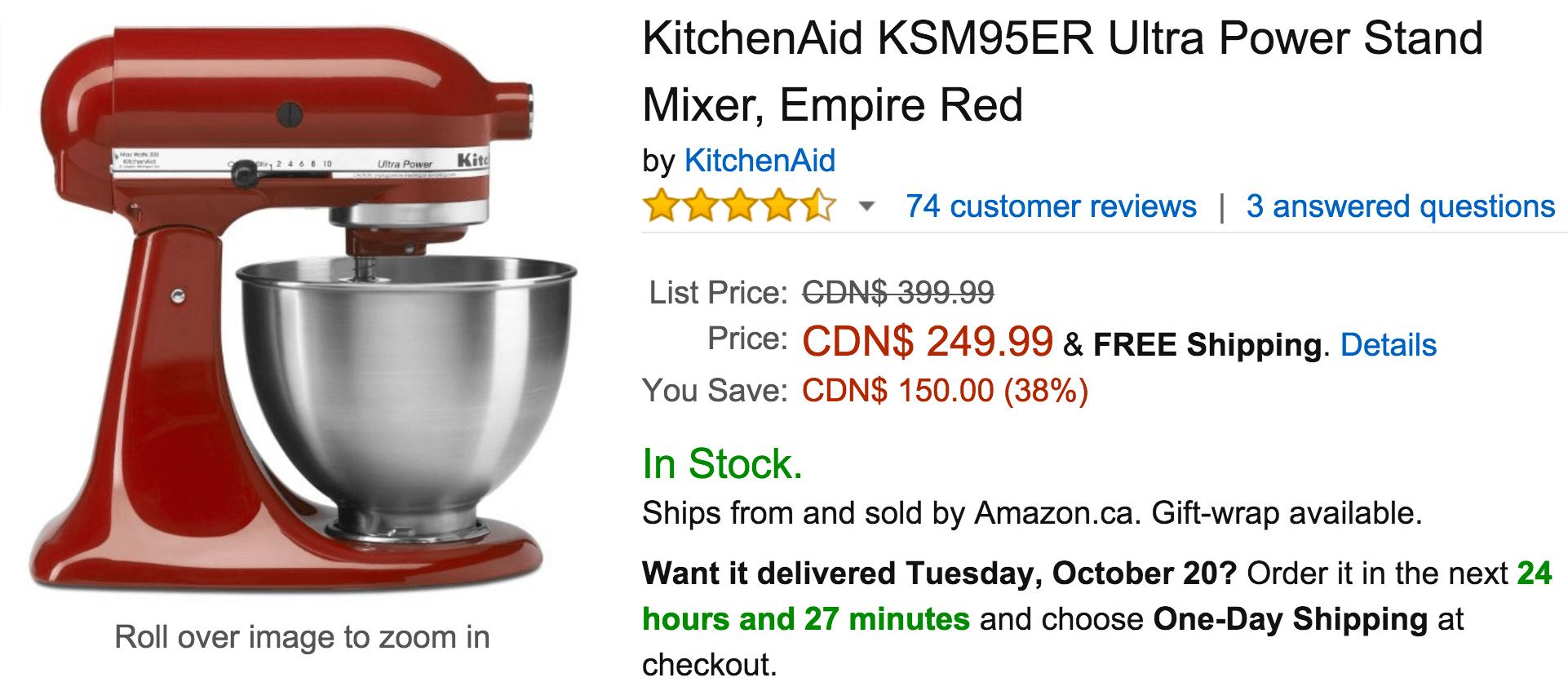 Kitchenaid coupons discounts