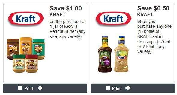 photograph relating to Kraft Coupons Printable identified as Kraft Canada Coupon codes: Conserve $1 Upon Kraft Peanut Butter And 50