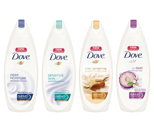 new product development report on dove soap