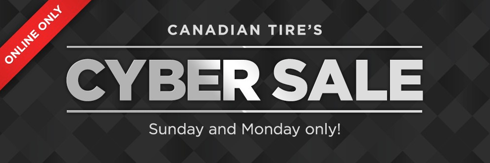 Canadian Tire Cyber Monday 2015