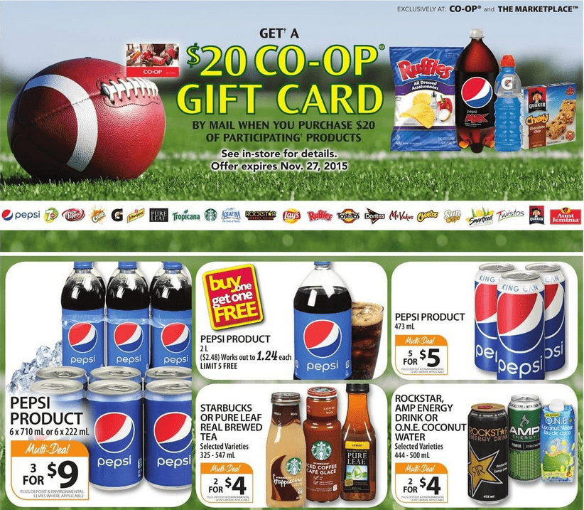 Coop 20 gift card