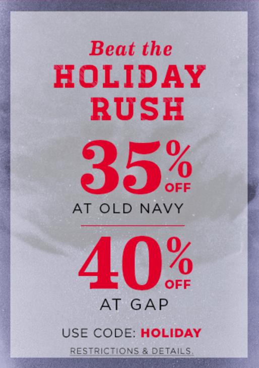 Gap & Old Navy