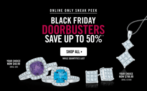 People's Jewellers Canada Black Friday