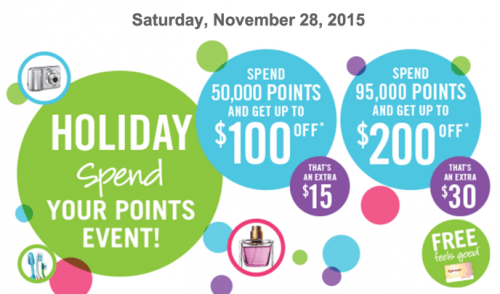 Shoppers Drug Mart Canada Spend Your Points Event Black Friday