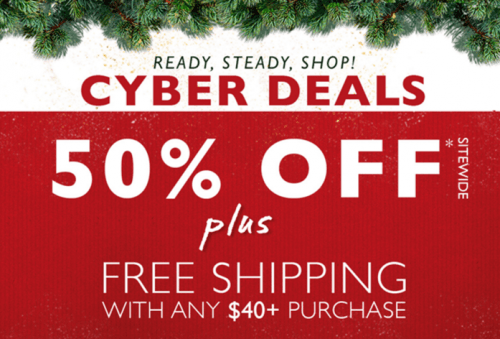 The Body Shop Canada online Cyber Monday 2015