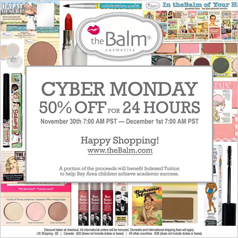 The balm coupon code