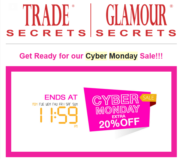 Does dillards have cyber monday deals