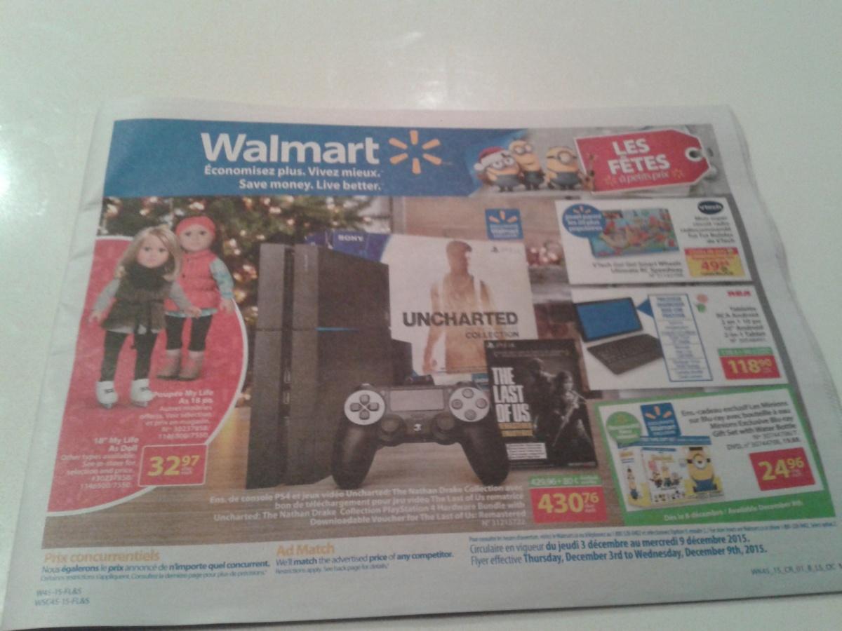 Walmart Flyer Sneak Peek Dec 3