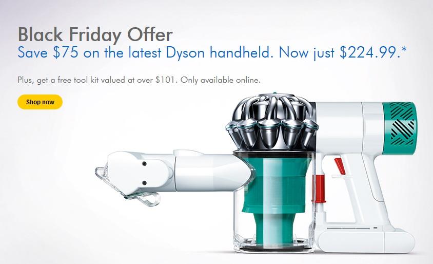 Dyson Canada Black Friday Offer Save 75 Off Dyson V6