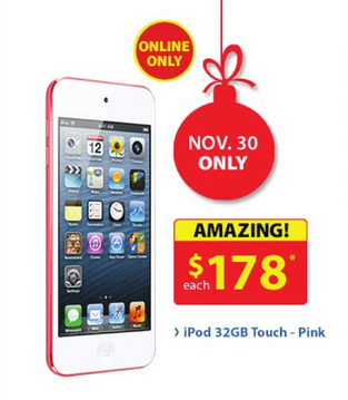 iPod Touch Cyber Monday