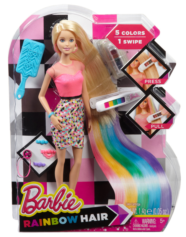 Barbie Rainbow Hair