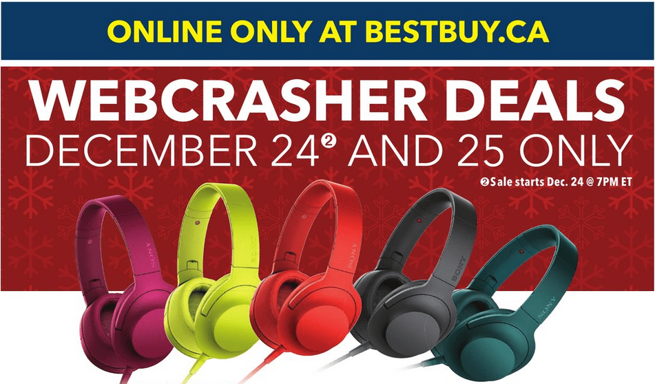 Best Buy Boxing Day Webcrashers