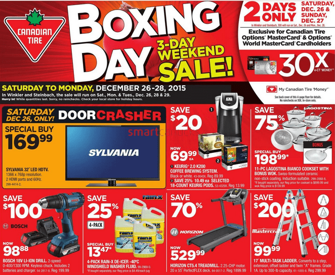 Best tv deals canada boxing day 2018