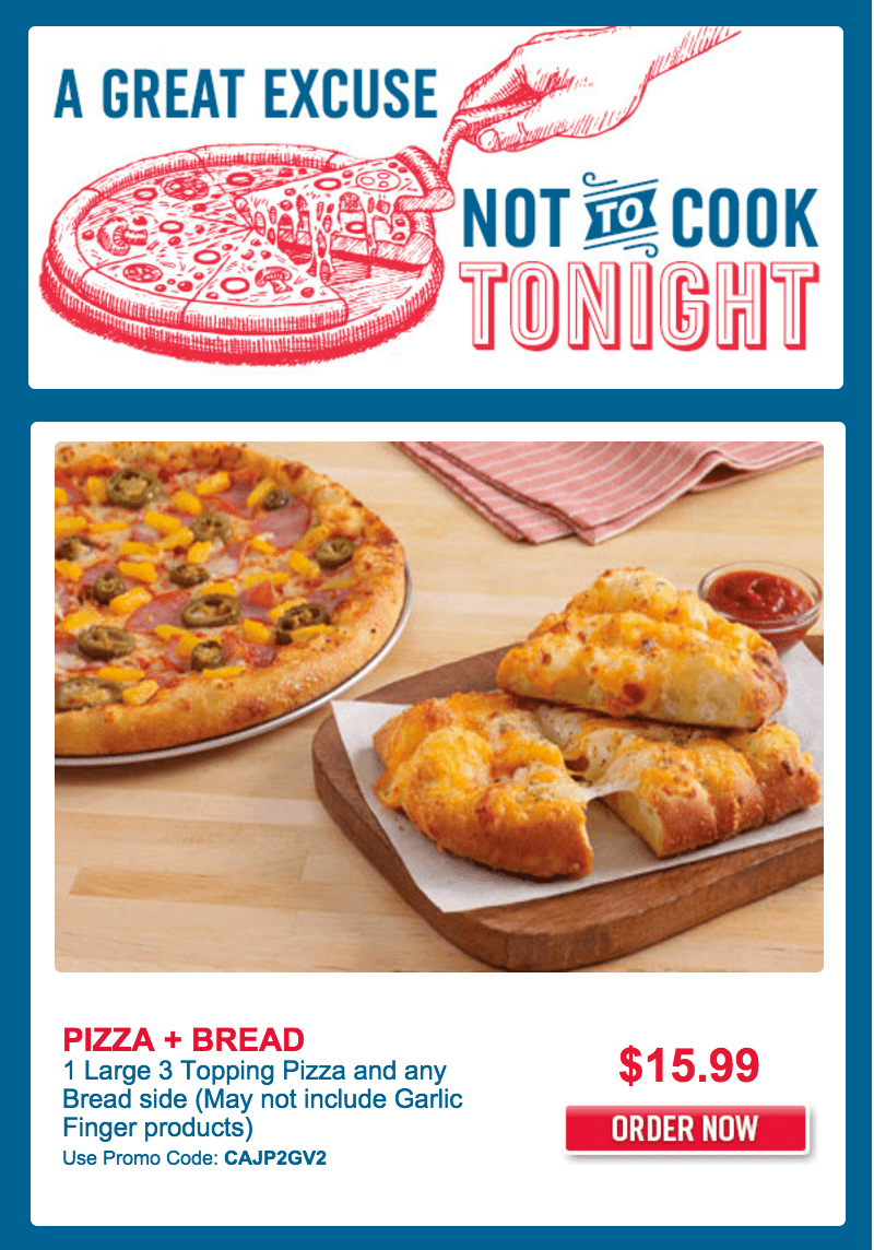 Domino's pizza deals and coupons