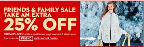 Macy's Friends & Family Sale