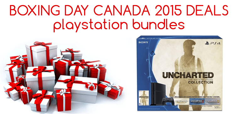 Playstation PS4 Boxing Day Deals Canada
