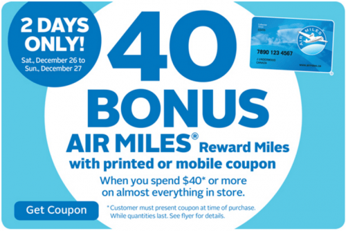 Rexall Pharma Plus Canada Air Miles Coupons