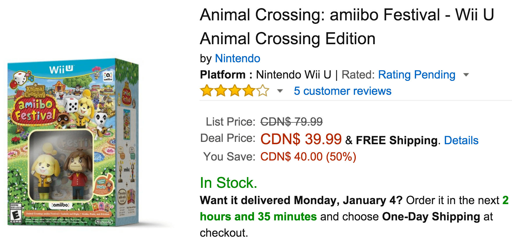 Amazon coupon code wii u