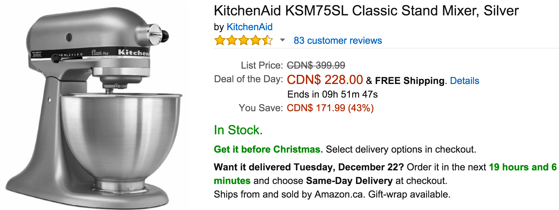 Amazon kitchenaid coupon - Cyber monday deals 2018 canon 7d