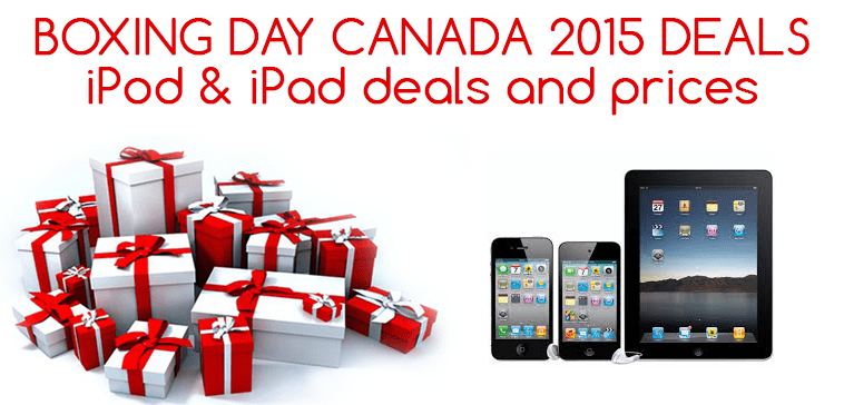 ipod ipad deals boxing day