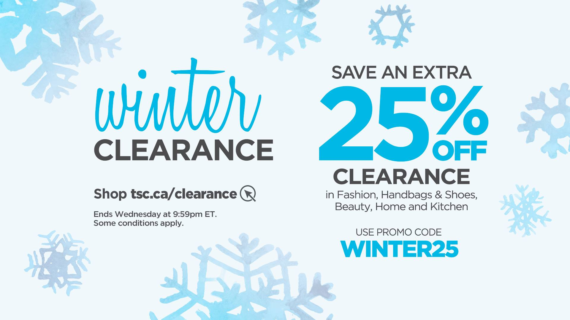 The Shopping Channel Canada Winter Clearance Promo Codes: Save an ...
