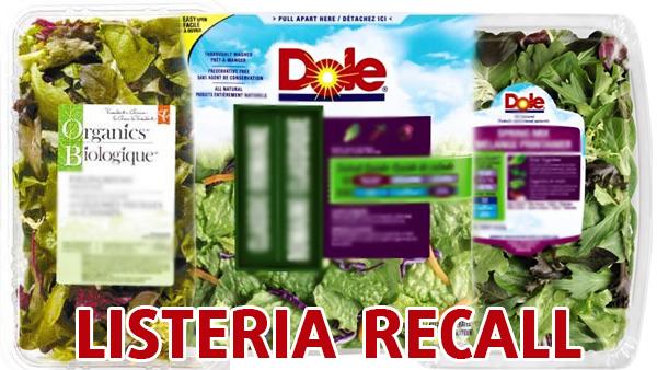 Listeria Food Recall List
