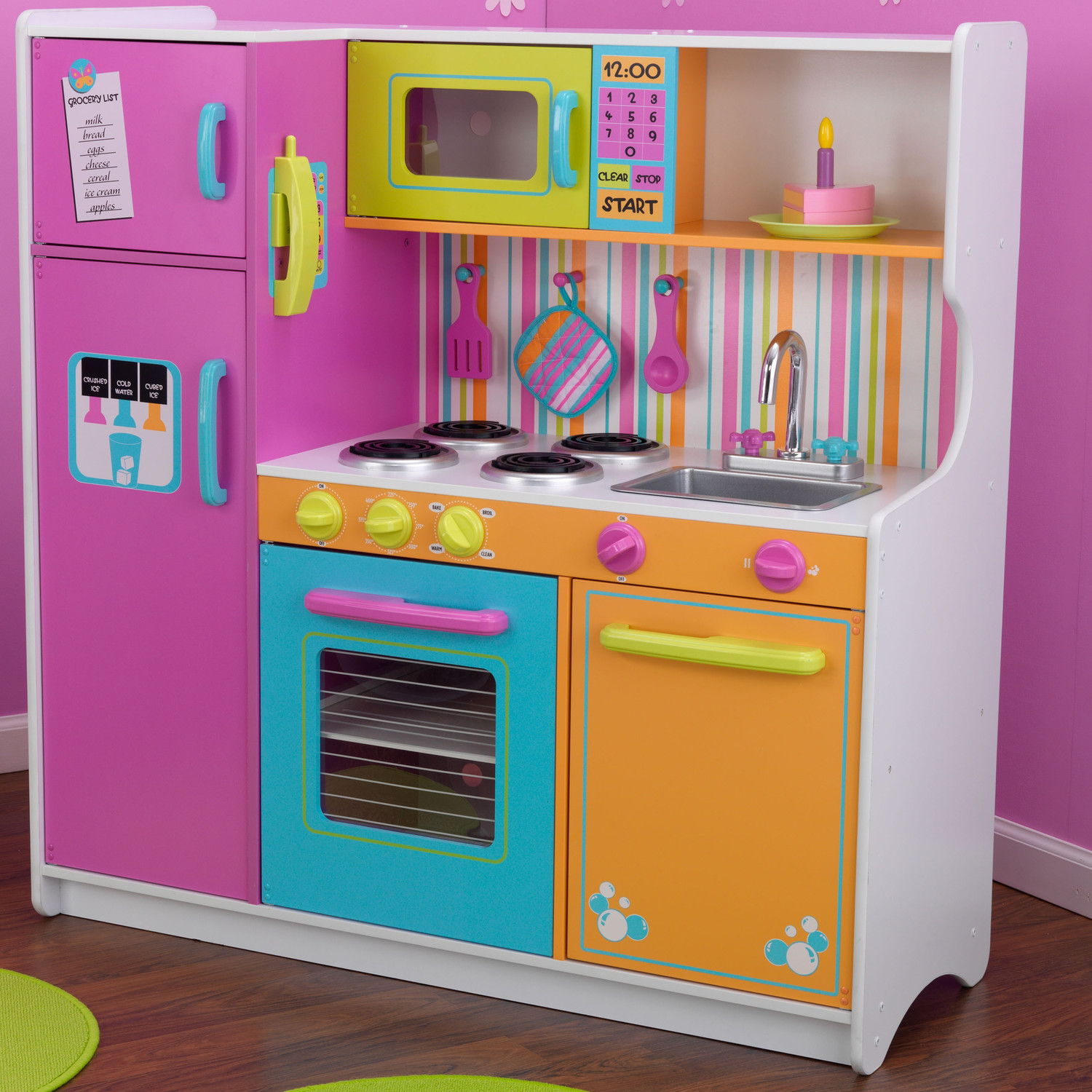 indigo canada toy sale save 59 off kidkraft deluxe kitchen playset now 100 was. Black Bedroom Furniture Sets. Home Design Ideas