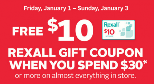 Rexall Canada Coupons