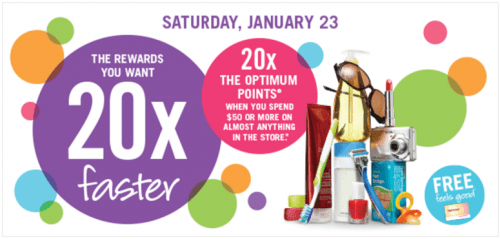 Shoppers Drug Mart Canada Optimum Points Bonus Deals