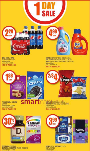 Shoppers Drug Mart Flyers Deals January 23, 2016