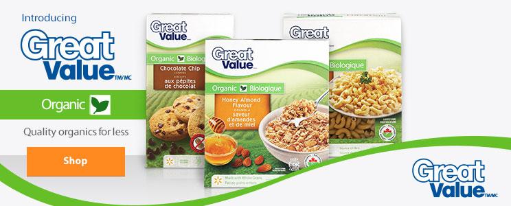 Walmart Organics Canada