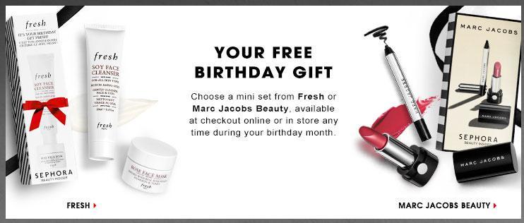 Sephora Canada Beauty Insider Free Birthday Gift 2016