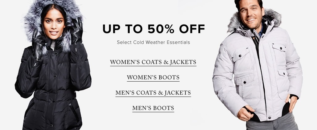 The Hudson's Bay Canada Winter Essential Sale: Save Up to 50% Off ...