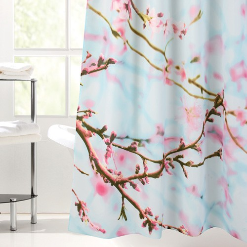 peach-flower-shower-curtain