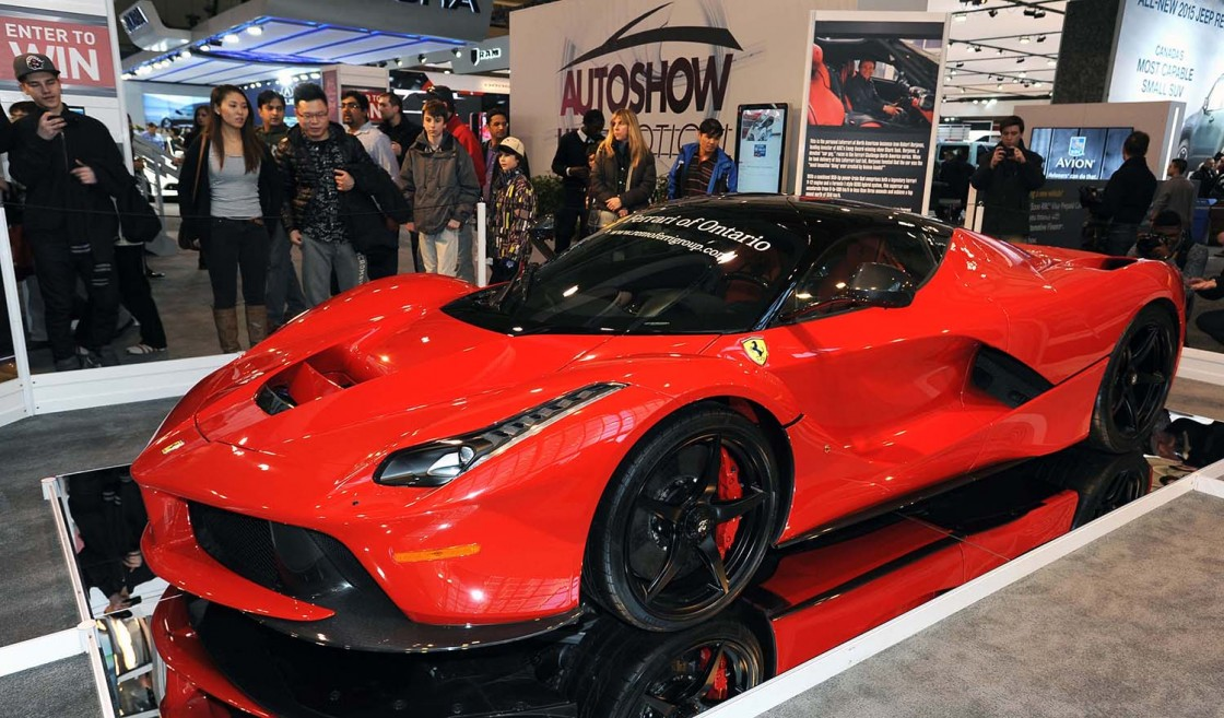 2016 canadian international auto show opens in toronto for Pool show toronto 2018
